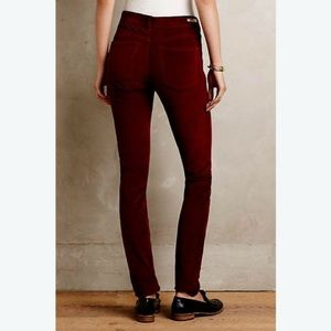 Pilcro and the Letterpress Anthro Corduroy Pants